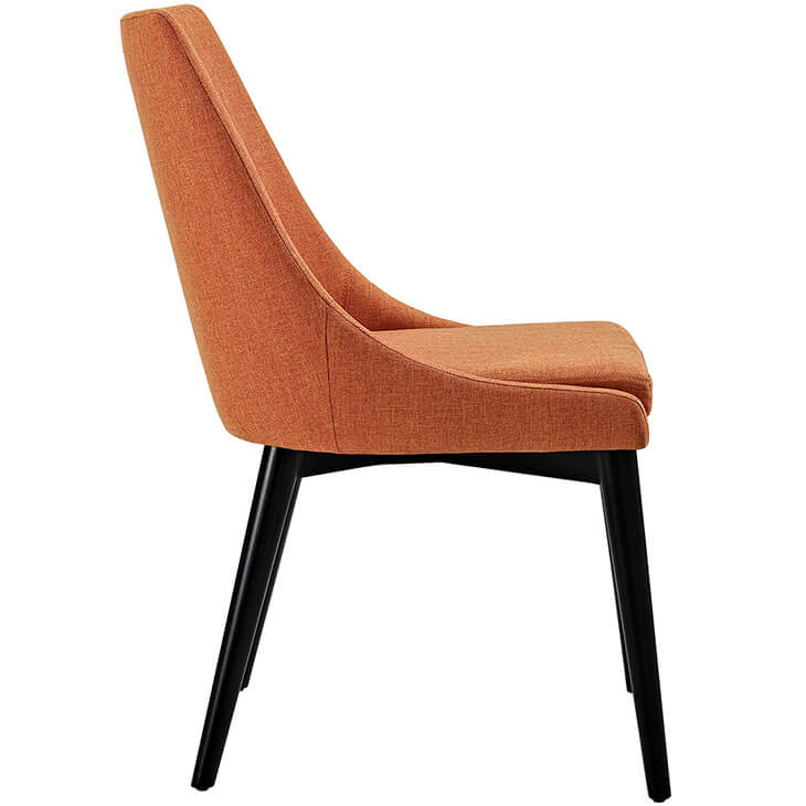 orange alps fabric chair 2