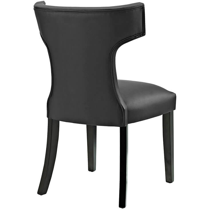 oxnard black leather chair 2