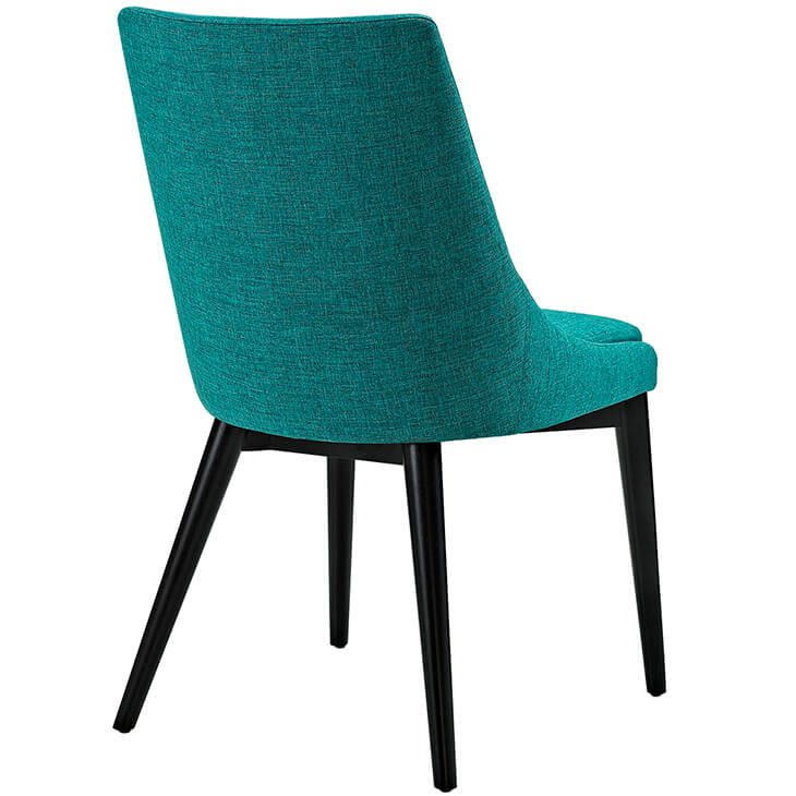 turquoise alps fabric chair 3