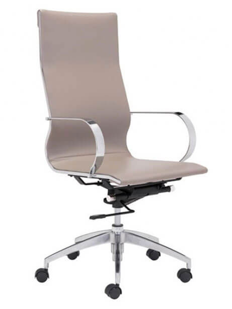 Image highback office chair taupe