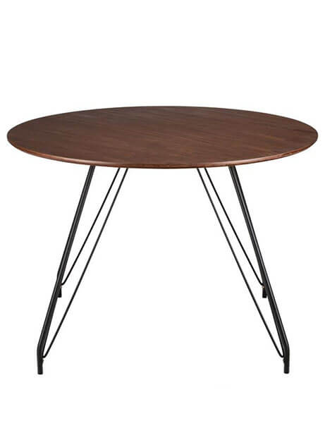 pin leg dining table
