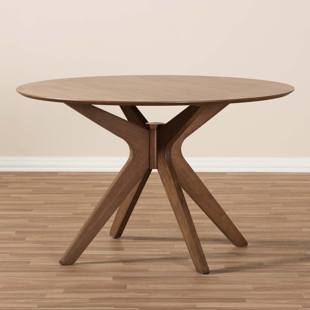 Reagan Walnut Wood Dining Table 3