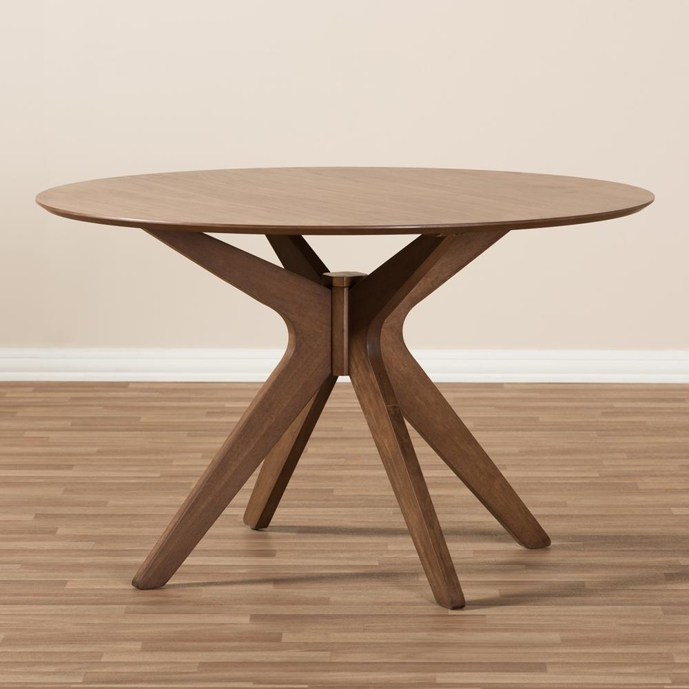 Reagan Walnut Wood Dining Table 3