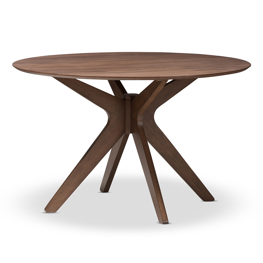 Reagan Walnut Wood Dining Table 6