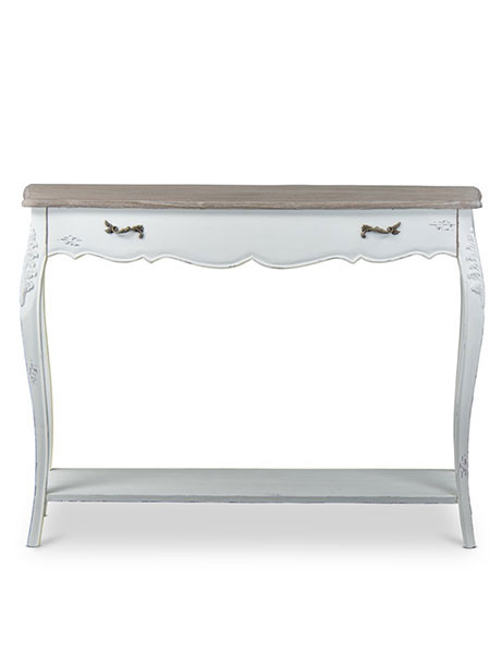 Scallop Console Table
