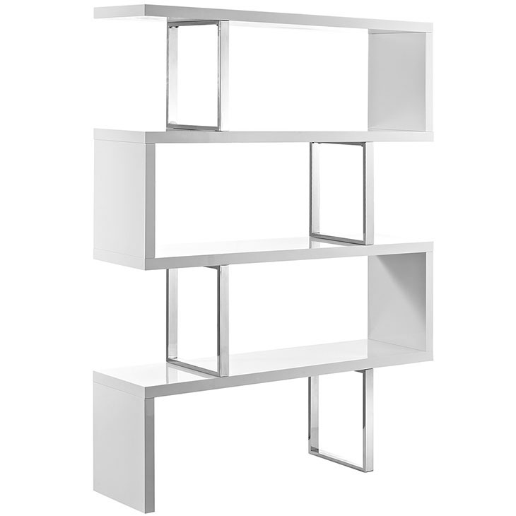 apogee shelving unit white 1
