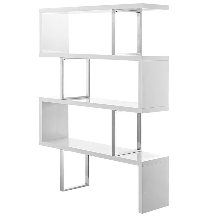 apogee shelving unit white 3