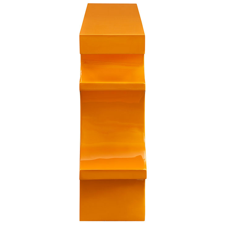 hive small console table orange 2
