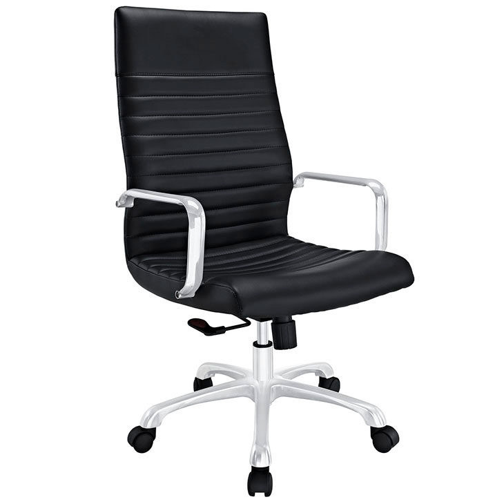 inspire high back office chair black 1