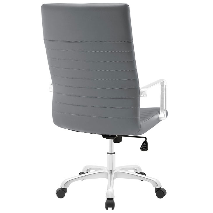 inspire high back office chair gray 3