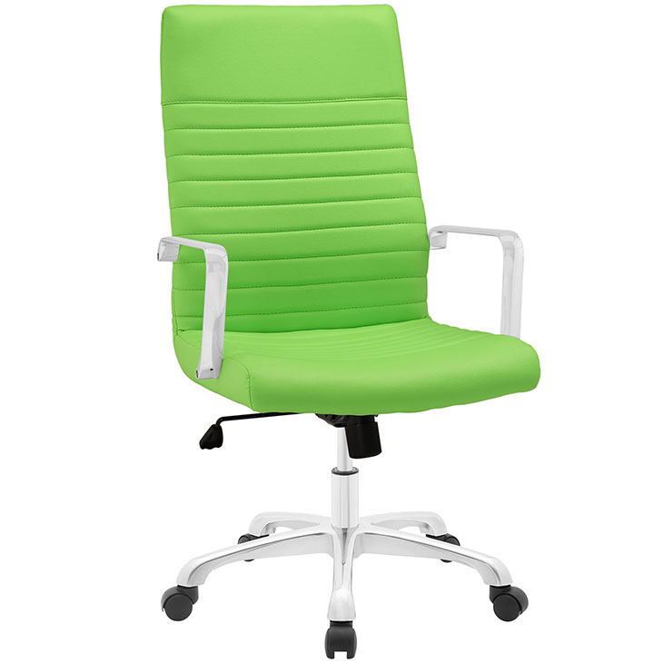 inspire high back office chair green 1
