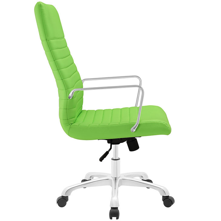 inspire high back office chair green 2