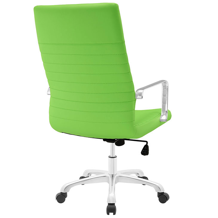 inspire high back office chair green 3