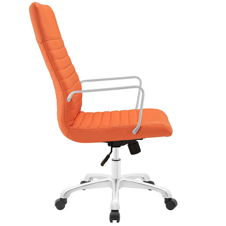inspire high back office chair orange 2