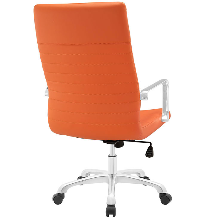 inspire high back office chair orange 3