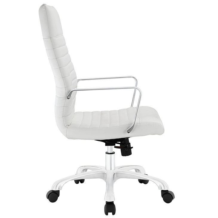 inspire high back office chair white 1