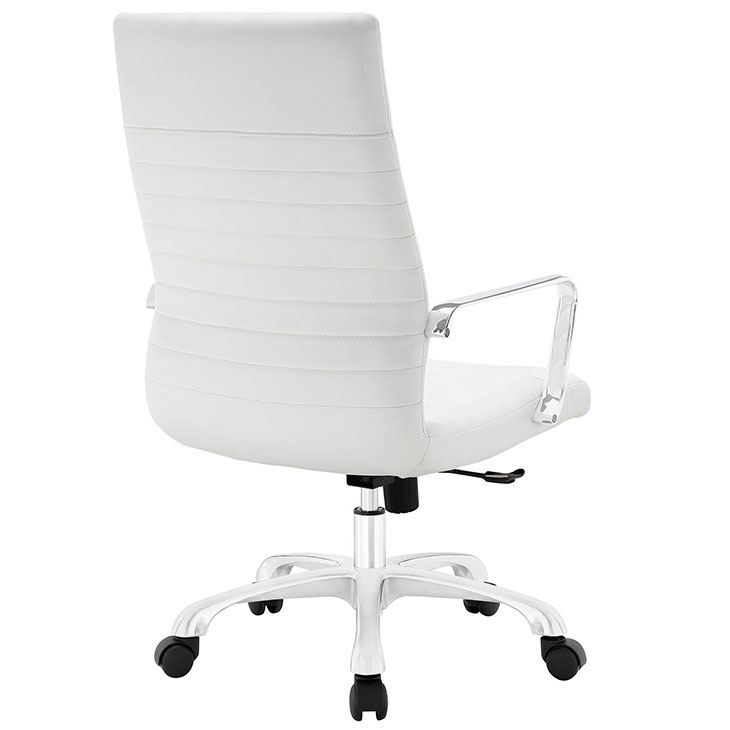 inspire high back office chair white 2