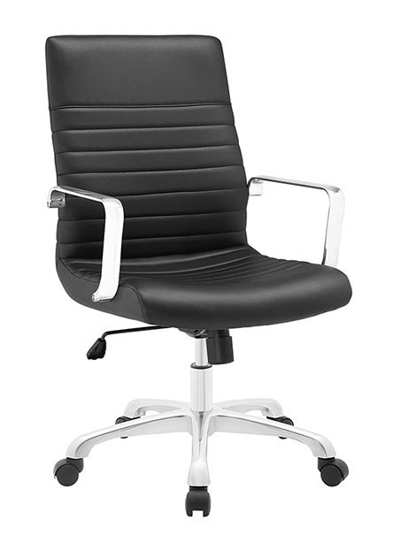 inspire mid back office chair black