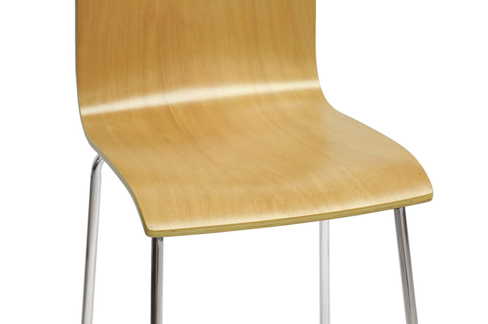 plywood barstool 2