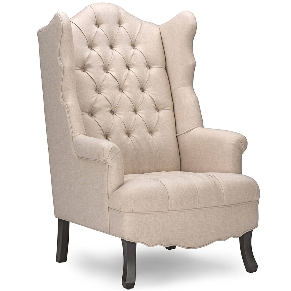 queen sofa armchair beige 1