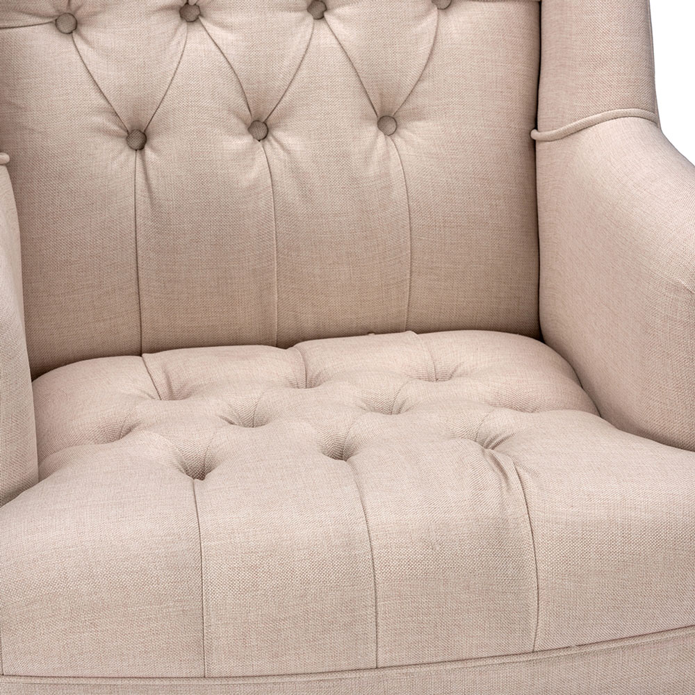 queen sofa armchair beige 4