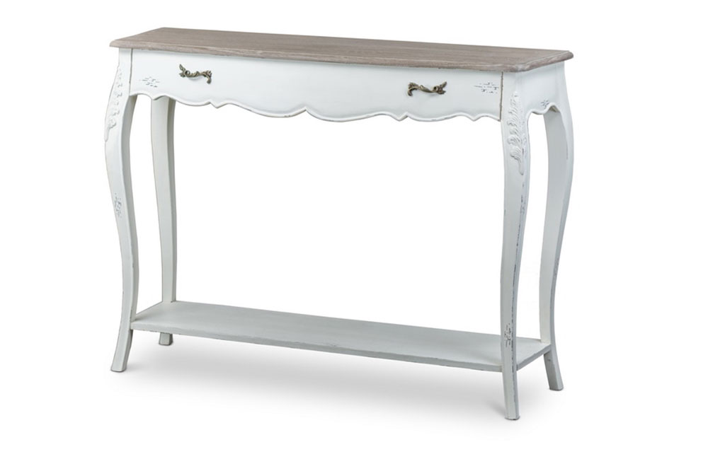 scallop console table 1