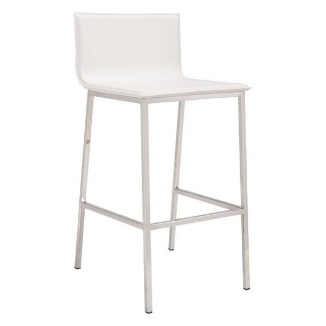 aire barstool white 1