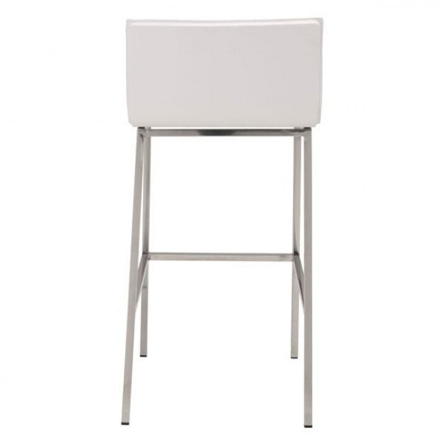 aire barstool white 4