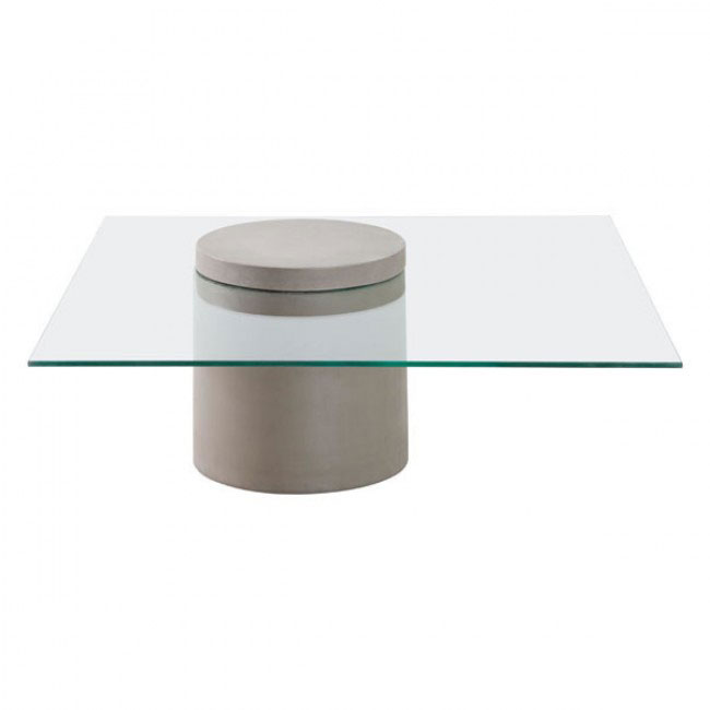 concrete cylinder coffee table 1