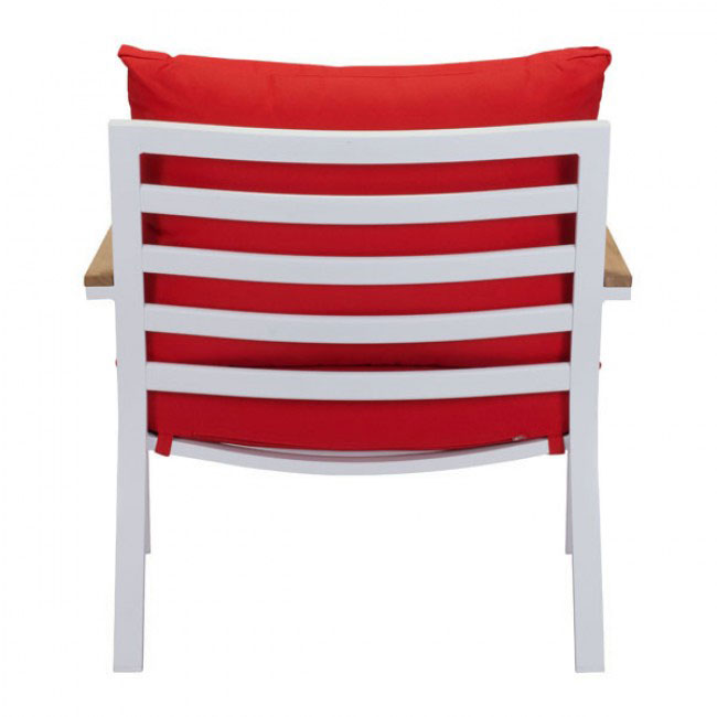 hills outdoor chair red 4