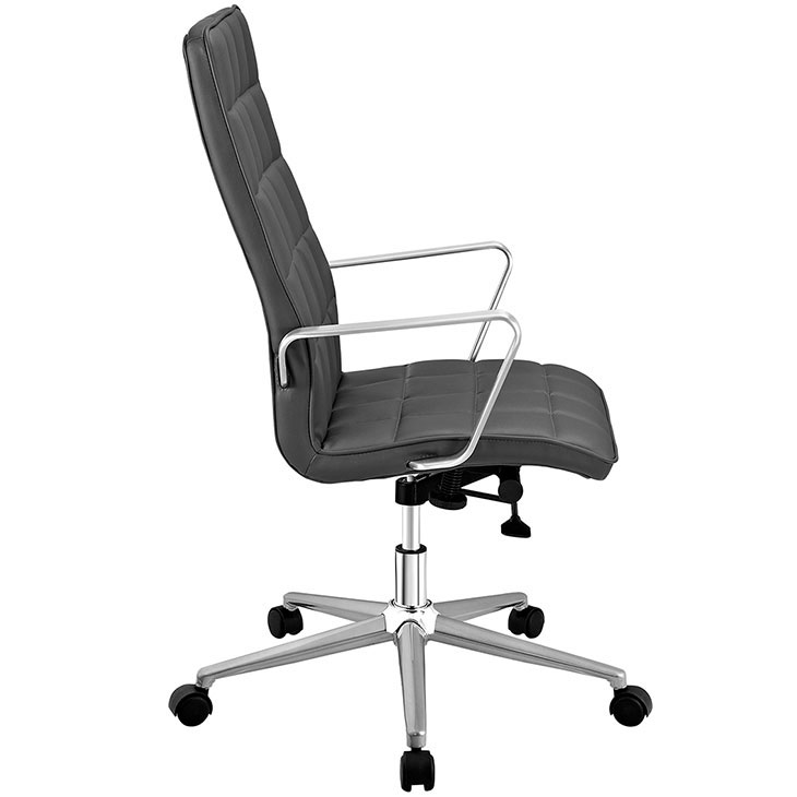 layout high back office chair gray 2