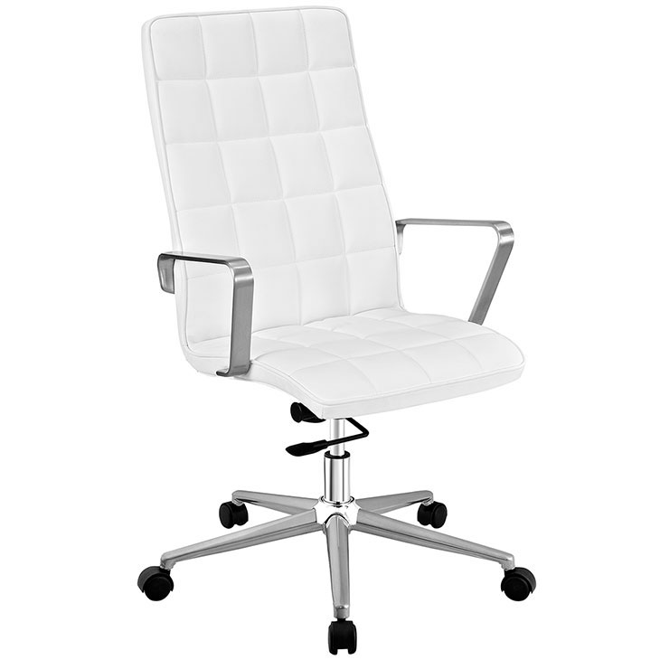 layout high back office chair white 1