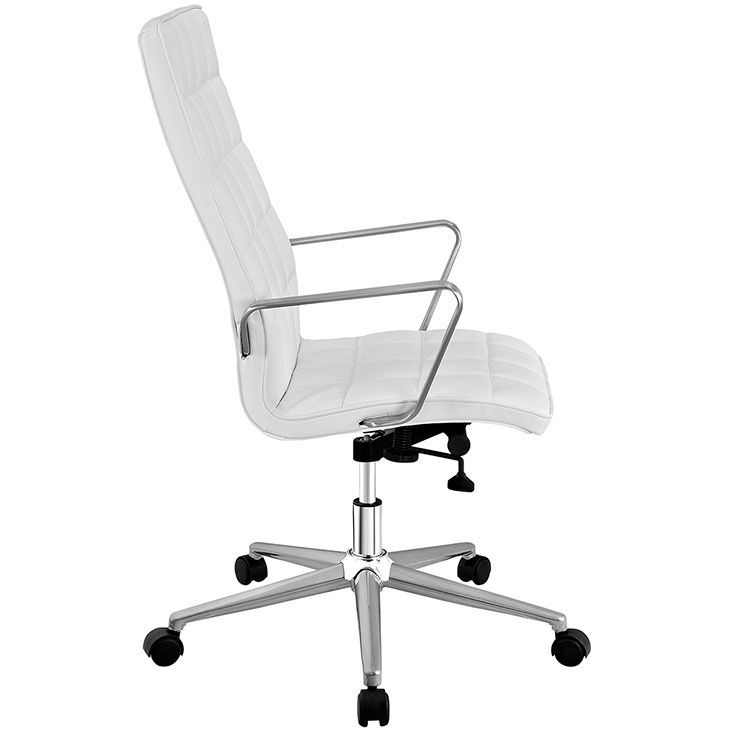 layout high back office chair white 2