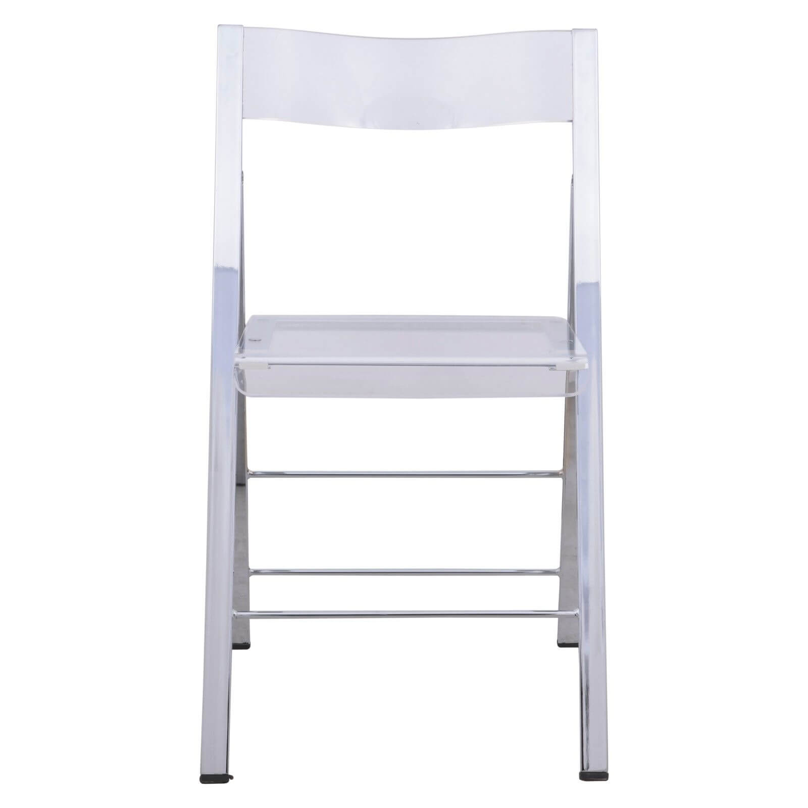 lucid clear folding chair 5