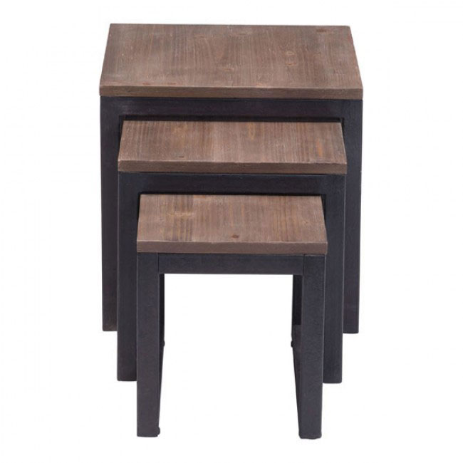 troop wood nesting table set 2