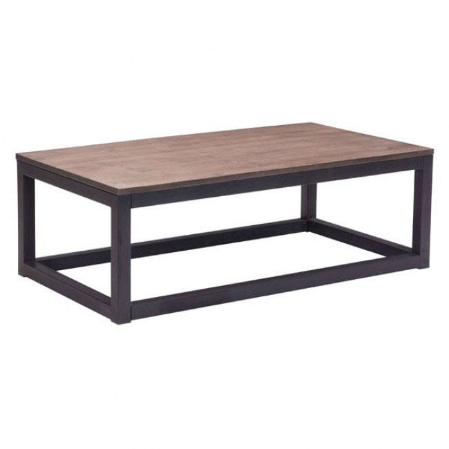 troop wood rectangular coffee table 1