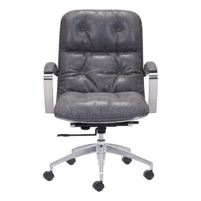 vault office chair gray 3