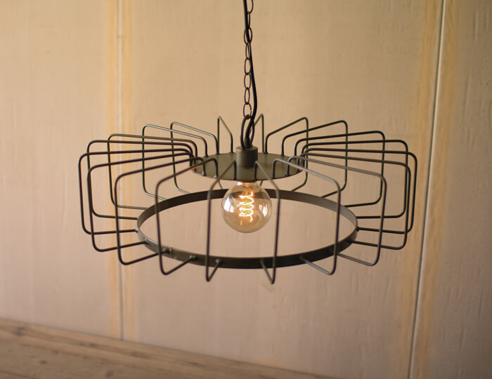 Round Wire Pendant Light 1
