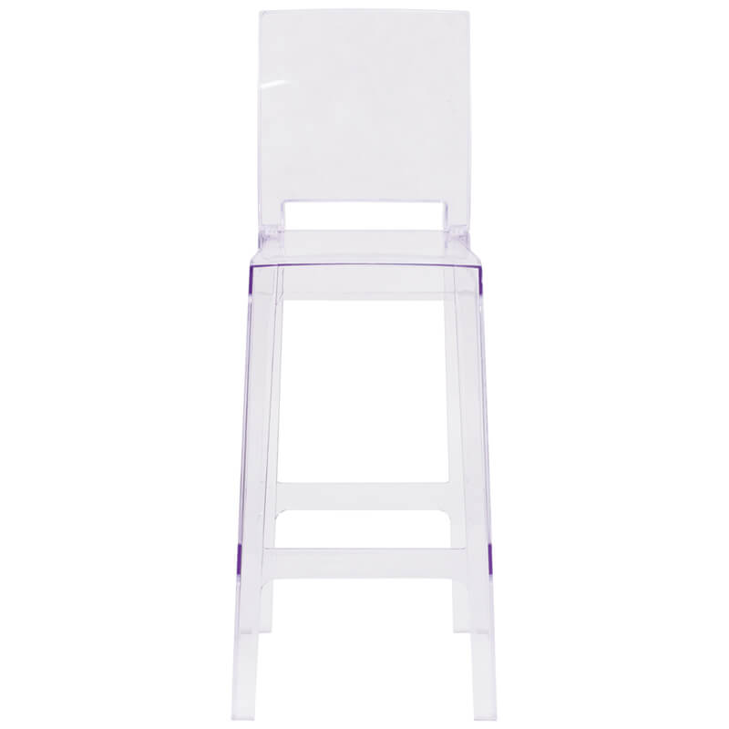 clear square barstool 2