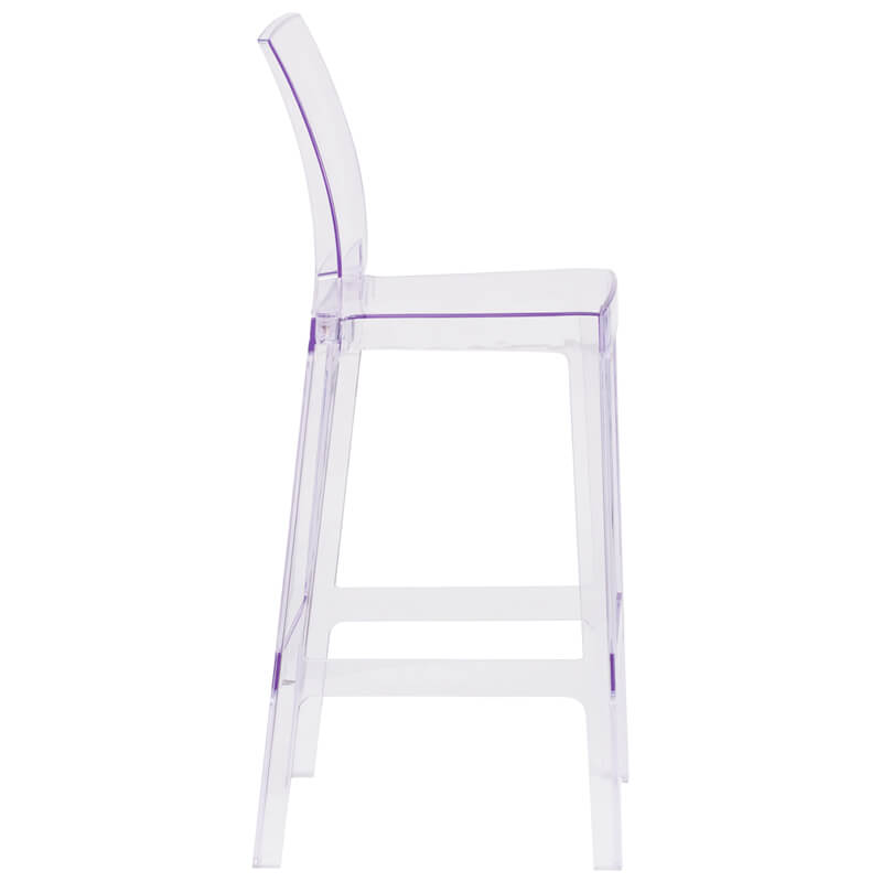 clear square barstool 4