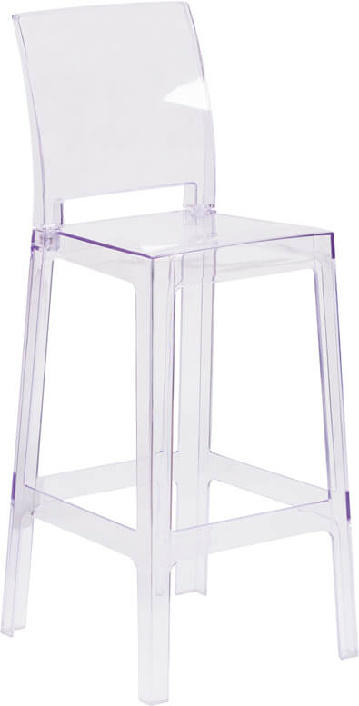 clear square barstool 5
