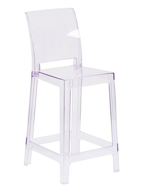 clear square counter stool 2