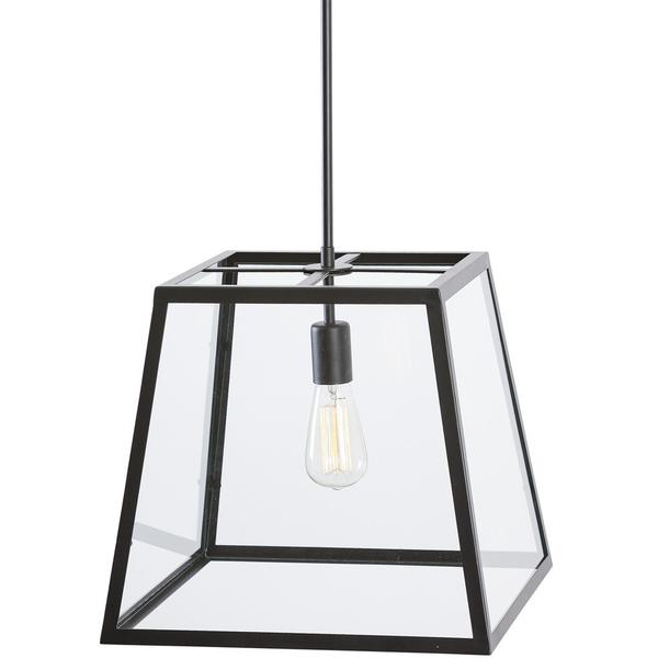 Glass box large pendant light 2