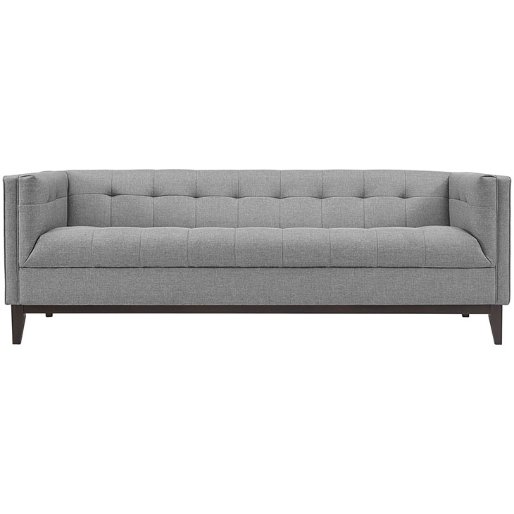 Lark Fabric Sofa light gray 3