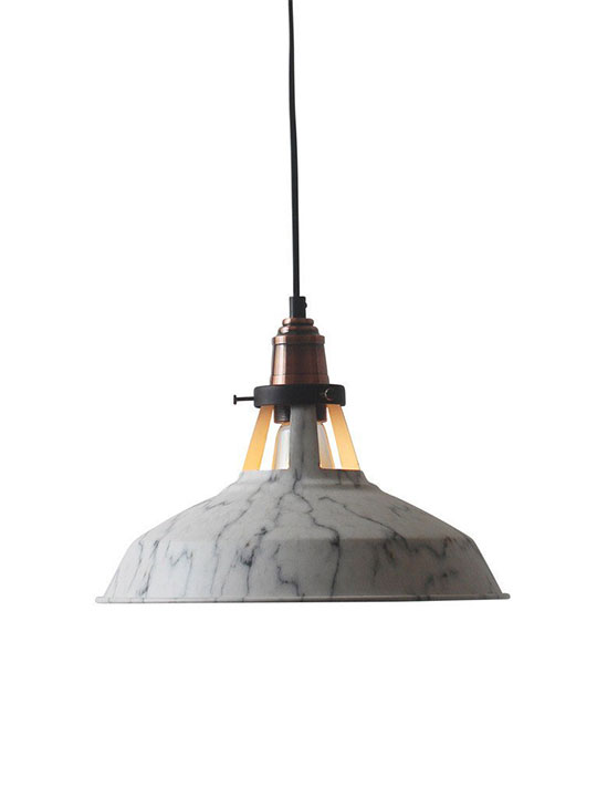 Marble Dome Pendant Light