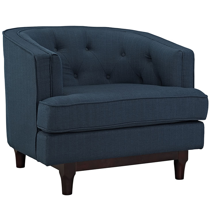 avenue sofa armchair blue 1