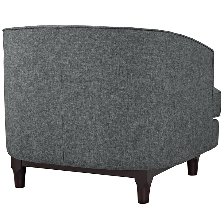 avenue sofa armchair dark gray 3