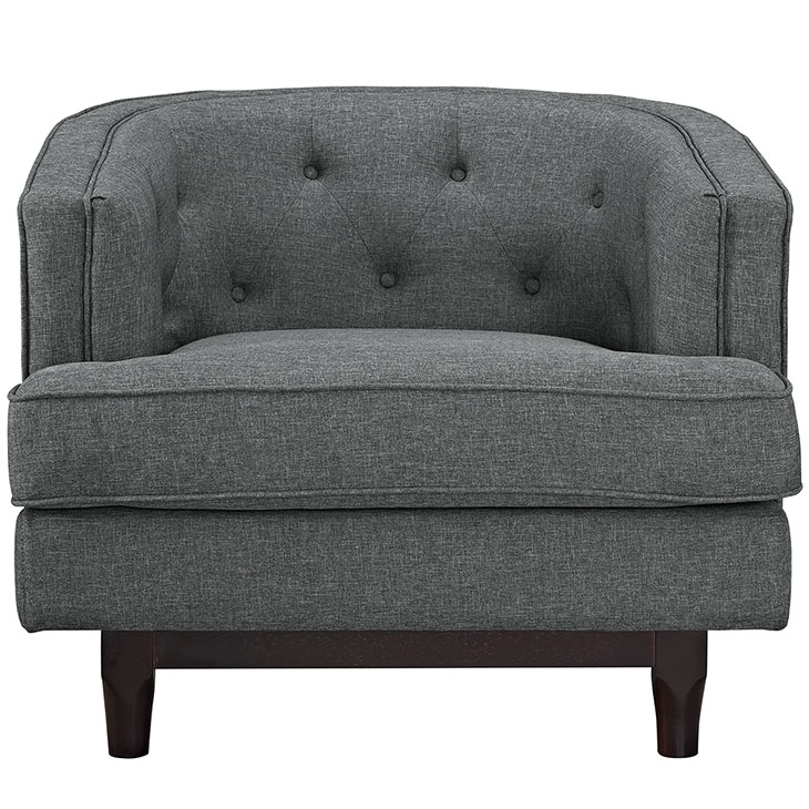 avenue sofa armchair dark gray 4