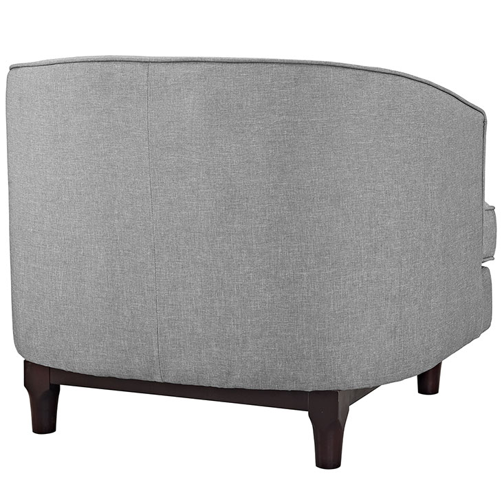 avenue sofa armchair light grey 3
