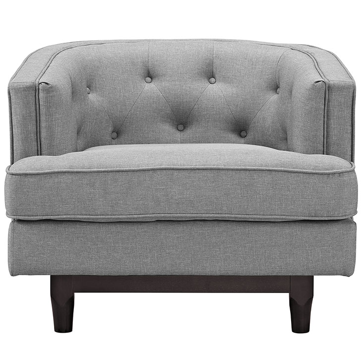 avenue sofa armchair light grey 4